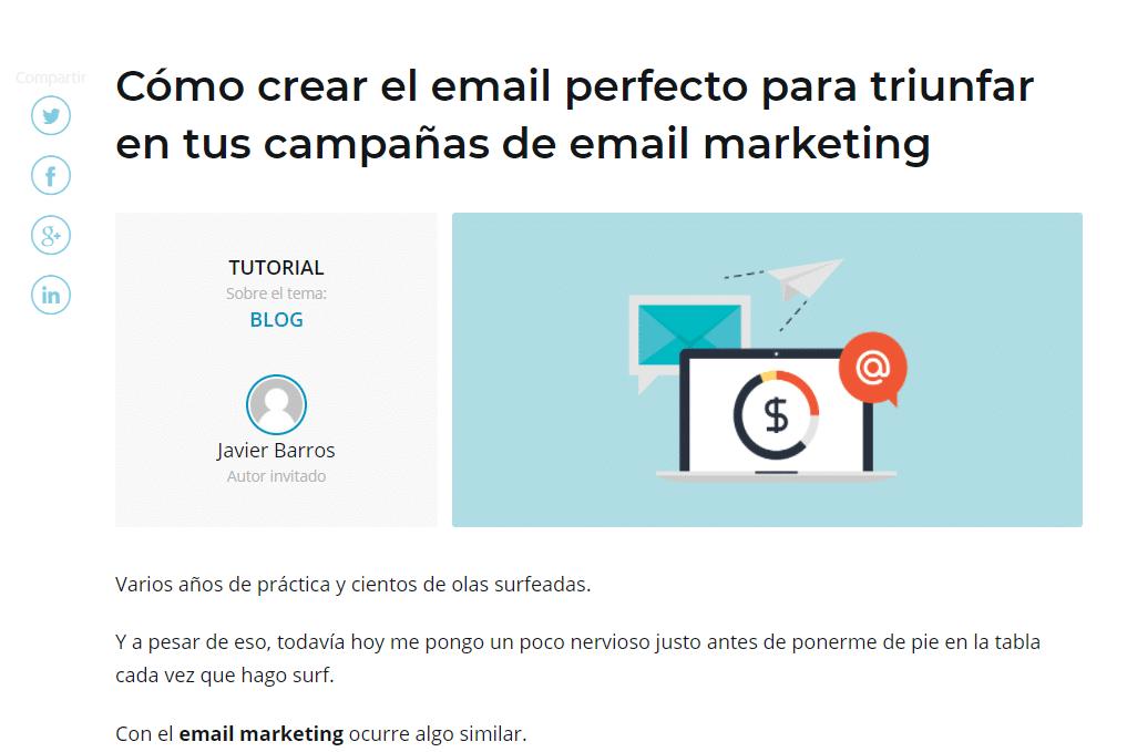 crear el email perfecto