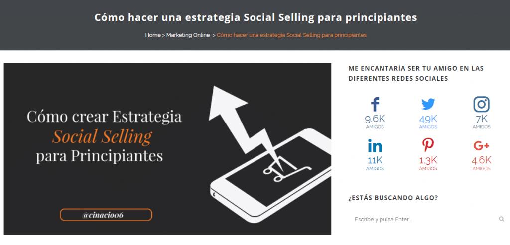 social selling para principiantes