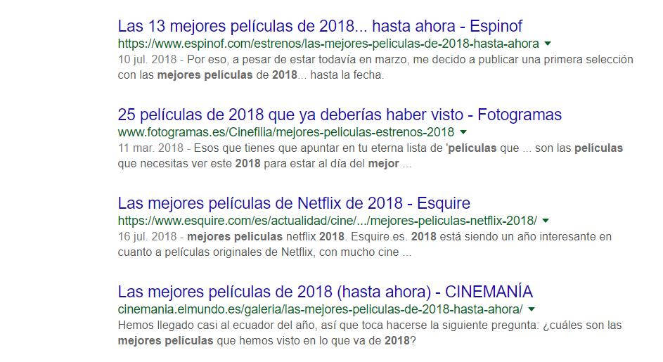 mejores peliculas 2018
