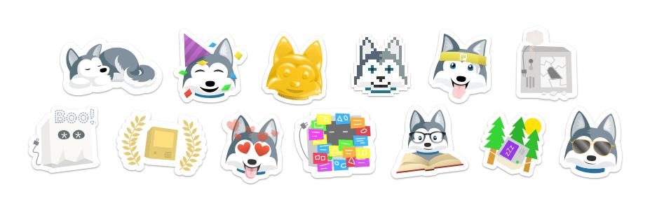 Stickers de trello